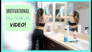 MOTIVATIONAL SPRING CLEAN WITH ME VIDEO!!! 2018 || Single Mommy of one ||