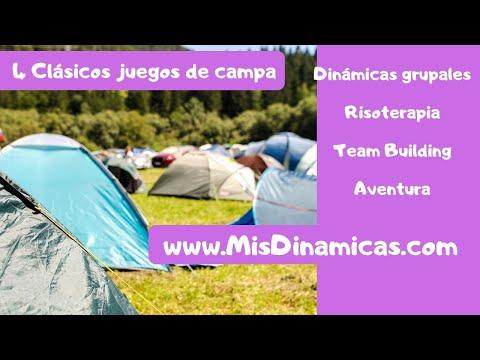 🏕️🏕️4 Clásicos juegos de campamento #juegos #campamento #clasicos