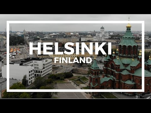 48 Hours in HELSINKI, Finland via Drone | Eat, See, Do | 4K | Travel JAM