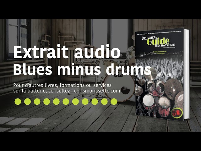 Extrait audio Bossa minus drums - Drummer's Guide de la batterie