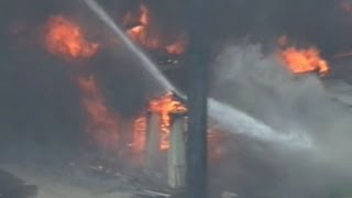 Houston Hotel Fire Kills Firefighters During Enormous Blaze
