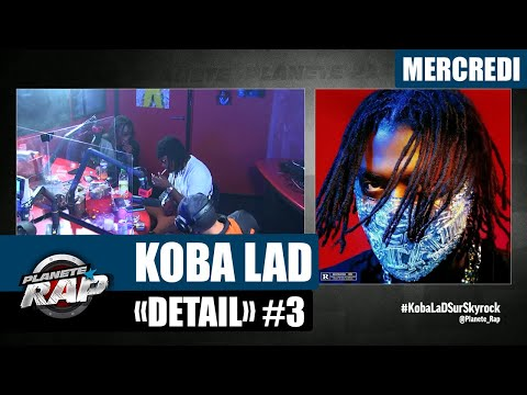 Youtube: Planète Rap – Koba LaD«Détail» avec GLK, ZKR, Frenetik et Kali #Mercredi