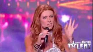 Incroyable imitation de Celine Dion par un Homme ! - Incroyable Talent 2013