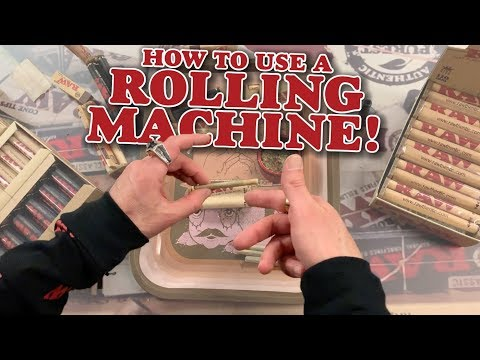 How To Use A RAW Rolling Machine!