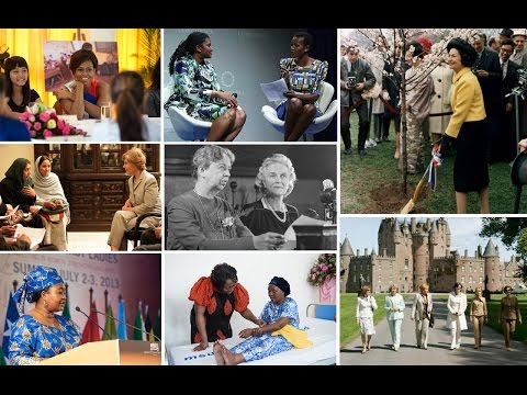 The Influence and Leadership of First Ladies Around the Globe