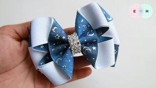 Laço de Fita 🎀 Fita N5 🎀 Ribbon Bow Tutorial #9 🎀 DIY by Elysia Handmade