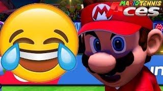 So.... This Happened 😂 (Mario Tennis Aces)