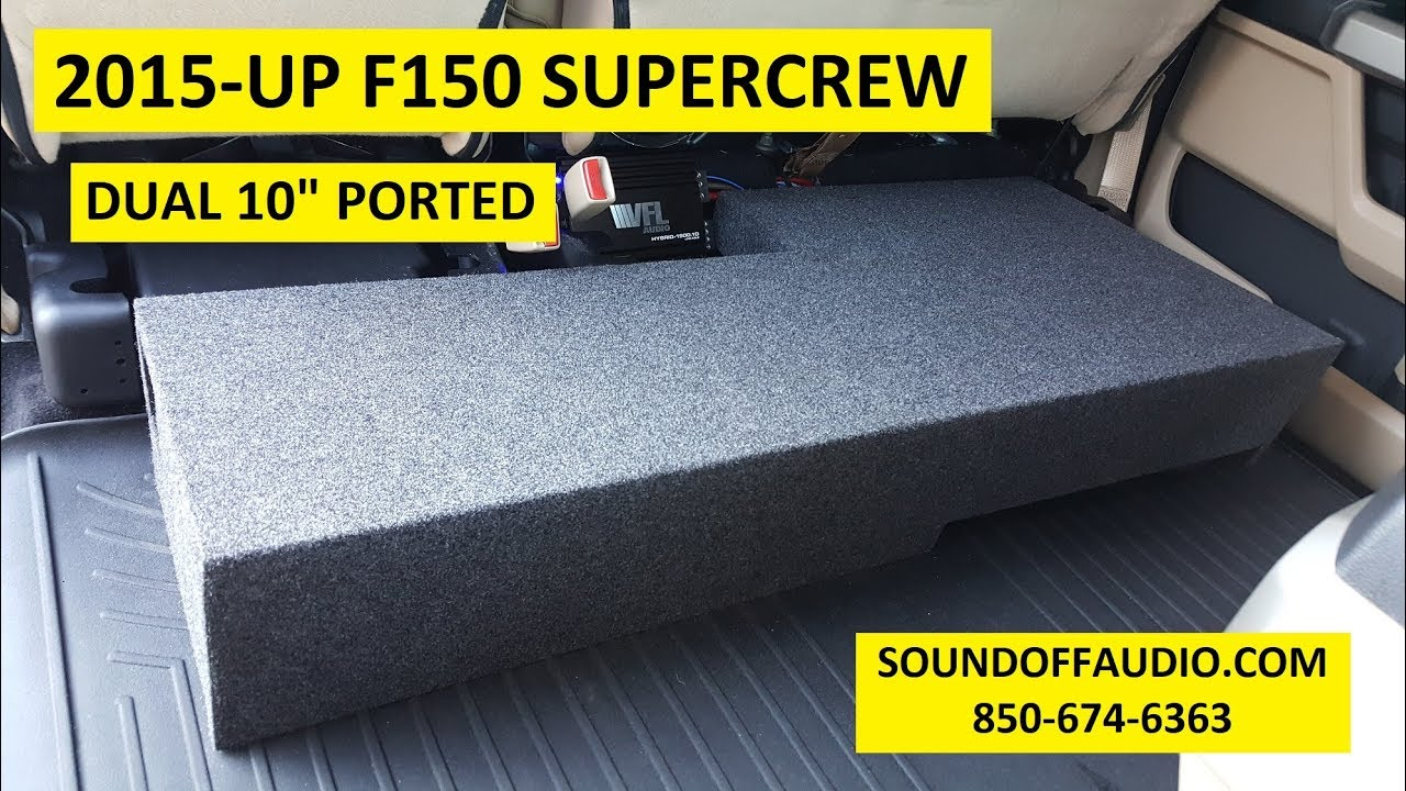 new 2015-up f150 supercrew dual 10