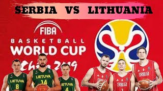 fiba world cup basketball 2019 | Serbia vs lithuania