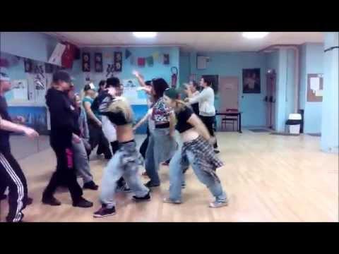 hiphop danse in 59 cour de sab