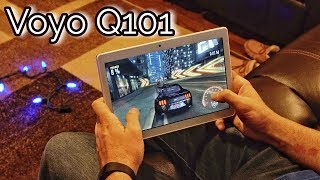 """Best tablet under $100 - Voyo Q101 Review - 10.1"""" 1080P Screen, Android 7.0"""