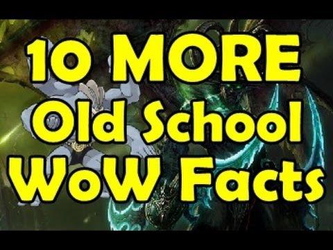 10 Old School WoW Random Fun Facts