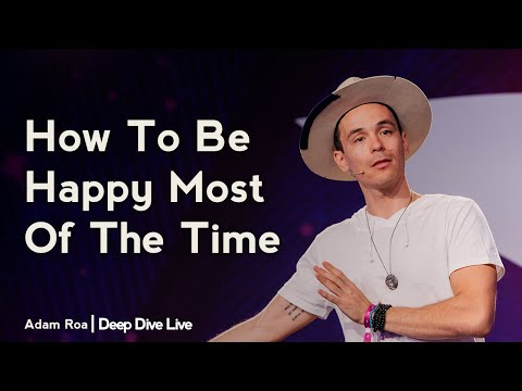 Deep Dive #121 | Marci Lock - How To Be Happy Most Of The Time - Deep Dive Podcast With Adam Roa from YouTube · Duration:  1 hour 9 minutes 10 seconds