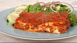 Homemade Lasagna For 4 Made With No-boil Lasagna Noodles (med Diet Episode 18)