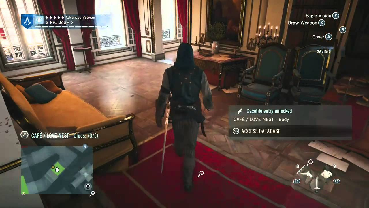 AC Unity The Barber of Seville Murder Mystery Part 1 - YouTube