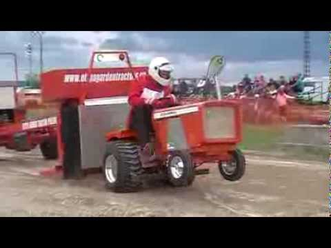 Garden Tractor Pulling   Allis Chalmers One Ninety