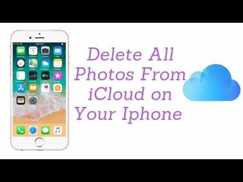 Delete All Photos From iCloud on Your Iphone or Ipad.
