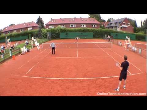 Tennis Drills: The Two On One Drill