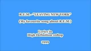 YouTube-Lyrics HD | R.E.M. |