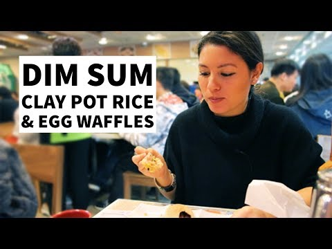 A day in Hong Kong: Dim Sum, Clay Pot Rice and Egg Waffles