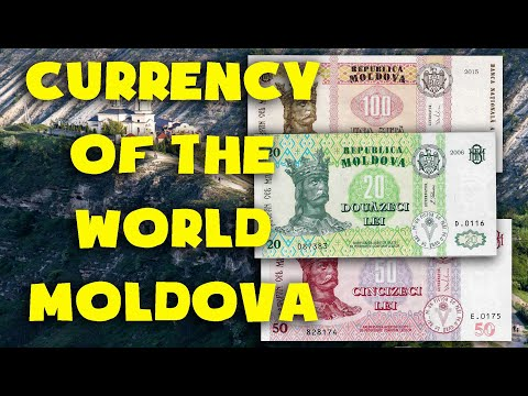 - Currency Of The World - Moldova. Moldovan Leu. Moldovan Banknotes And Coins