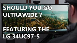 21:9 Ultrawide Monitor Review - Featuring the LG 34UC97-S
