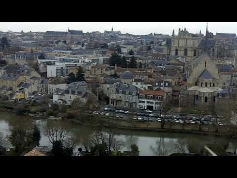 Overview of Poitiers, France