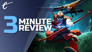 The Pathless | Review in 3 Minutes (Video Game Video Review)