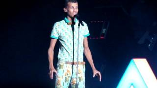Stromae - Papaoutai (Moscow, Crocus City Hall, 2014)