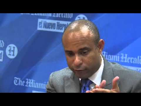 Haitian Prime Minister Laurent Lamothe meets with Miami Herald Editorial Board