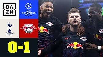Werner-Elfer zum verdienten Sieg in London: Tottenham - Leipzig 0:1   UEFA Champions League   DAZN