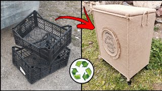 SUPER IDEAS YOU MAKE WITH PLASTIC VEGETABLE CASE RECYCLING