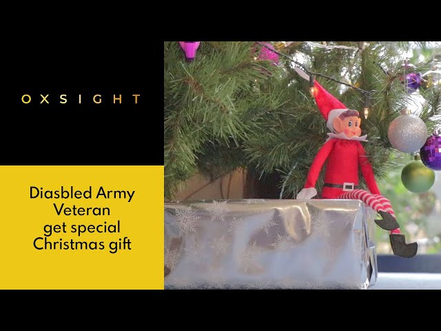Disabled Army Veteran gets special Christmas Gift