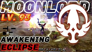 Dragon Nest Korea : MoonLord Awakening Lv. 93 Gameplay. Smash X and Moon Blader.