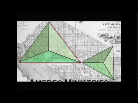 Washington DC Street Layout Illuminati & the Masons