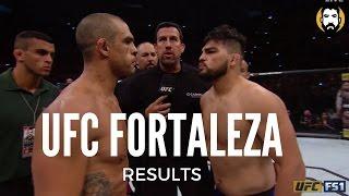 UFC Fortaleza Results: Vitor Belfort vs. Kelvin Gastelum, Shogun Rua vs. Gian Villante