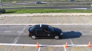 Auto škola - polaganje - poligon