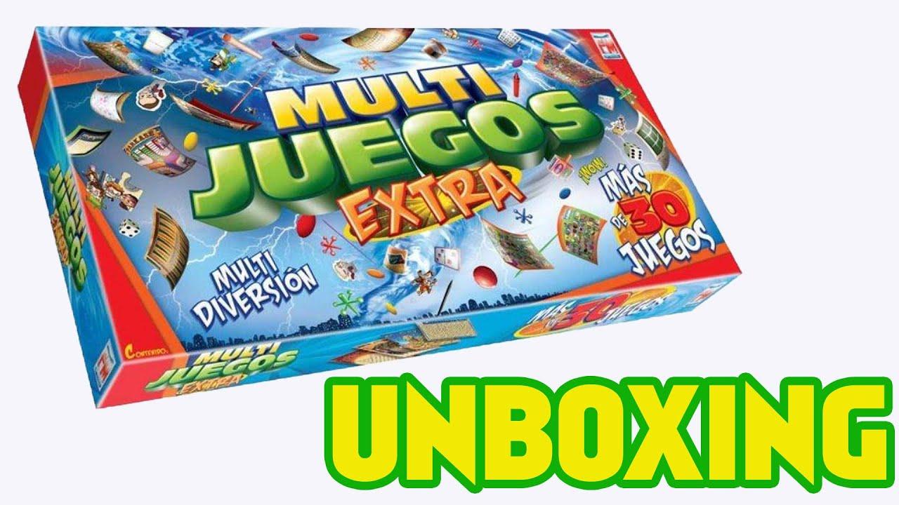 Unboxing Multijuegos Extra Juego De Mesa De Fotorama De Mexico