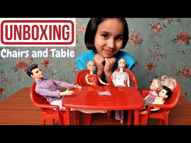 Nilkamal Very Small chair and 1 table- Multi color  / UNBOXING | #LearnWithPari