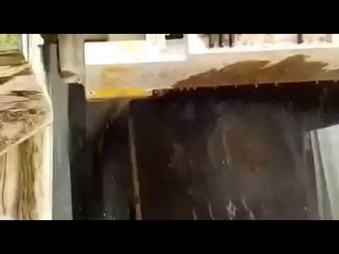 www.stones-park.com - Video 2 - Processing of a basalt rock
