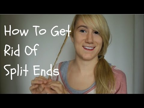 How To Get Rid Of Split Ends Without Cutting All Your Hair ...