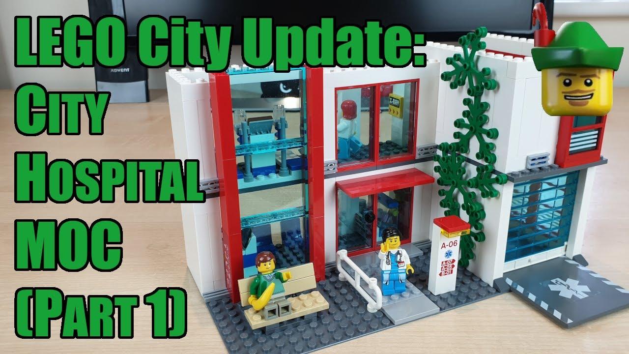 LEGO City Update - City Hospital MOC Part 1 4429 🏥🏹