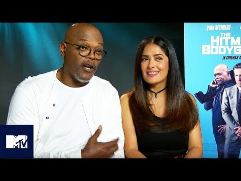 The Hitman's Bodyguard SEQUEL: Samuel L. Jackson And Salma Hayek Reveal Steamy Ideas 🔥| MTV Movies