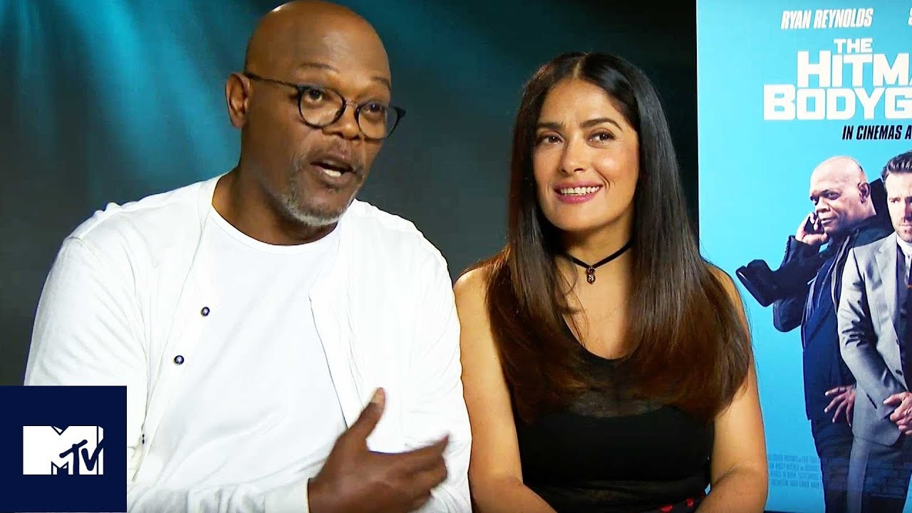 The Hitman's Bodyguard SEQUEL: Samuel L  Jackson And Salma Hayek Reveal  Steamy Ideas 🔥| MTV Movies