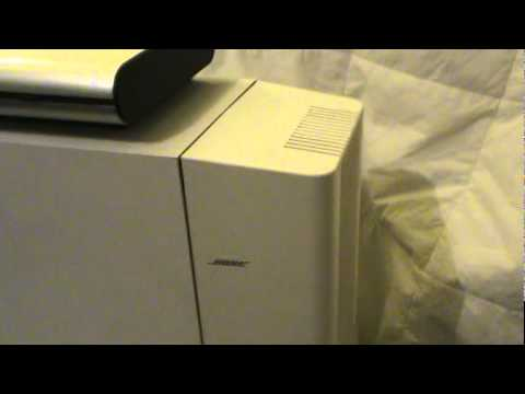 bose 301 series iv lifestyle model 5 acoustimass 9 and cubes mpg rh youtube com Acoustimass Unit Baese Acoustimass 10