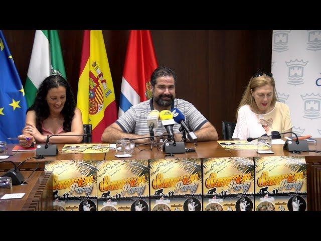 Presentación de la II Summer Party de la Hdad. del Rocío de Cartaya