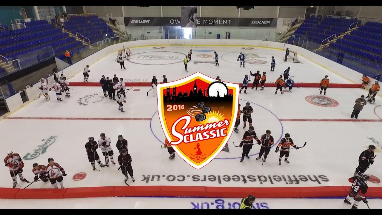 Uk Summer Classic 2016 England S First 3v3 Ice Hockey Tournament