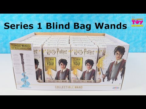 Harry Potter Wands Series 1 Full Box Blind Bag Toy Opening Review | PSToyReviews