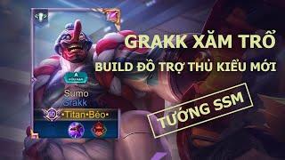Liên Quân Mobile | Grakk Sumo có phải lên đồ trợ thủ ngay đầu trận hay không? - by Titan Gaming