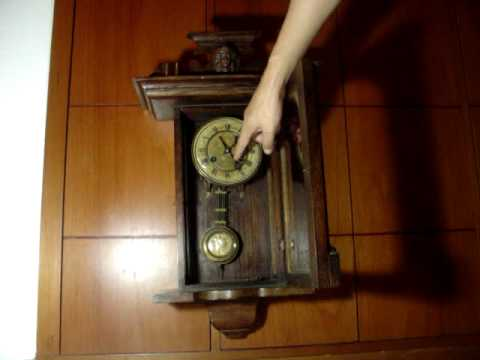 ANTIQUE KIENZLE VIENNA WALL CLOCK REGULATOR CIRCA 1900 YouTube